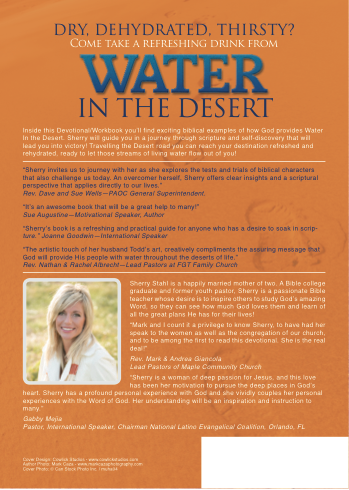 Water In The Desert Back Cover