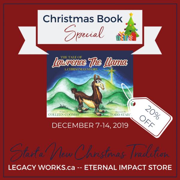 Christmas Special-Lawrence Llama