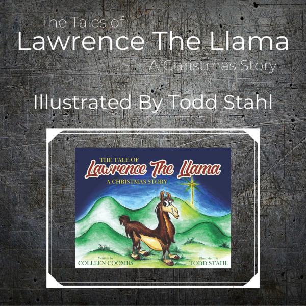 Lawrence Llama - Christmas