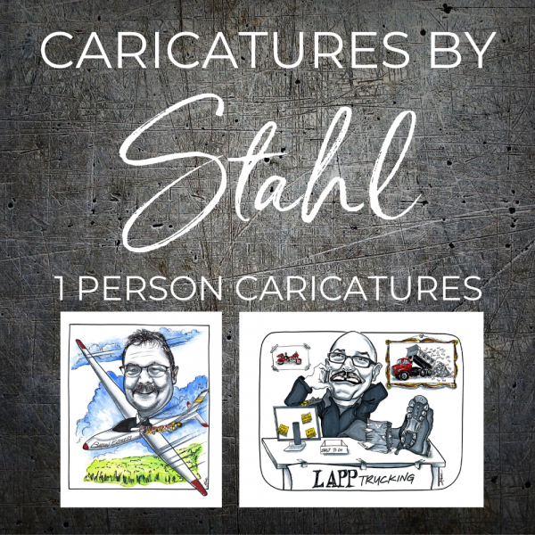 CARICATURES 1 Person
