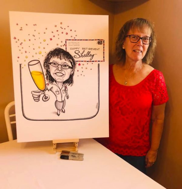 caricature shelley